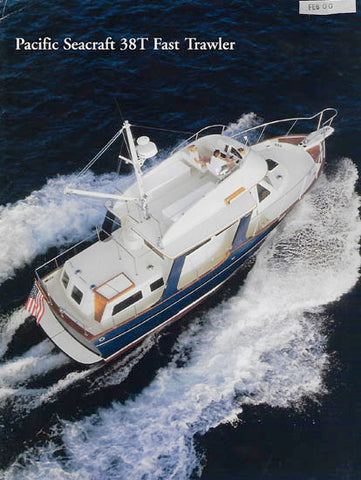 Pacific Seacraft 38T Trawler Brochure