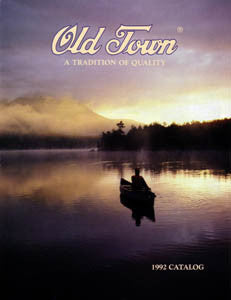 Old Town 1992 Brochure