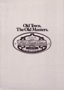 Old Town 1979 Brochure