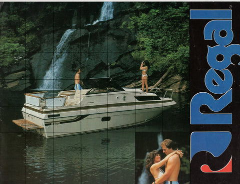 Regal 1982 Brochure