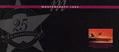 Mastercraft 1993 Full Line Brochure