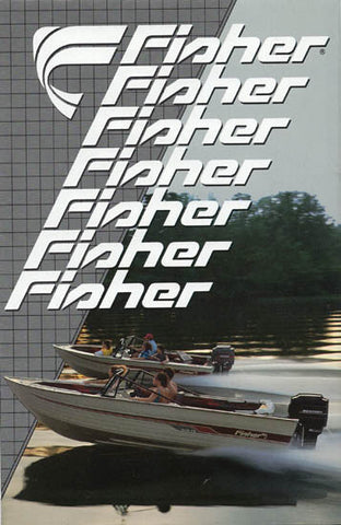 Fisher 1988 Fishing Brochure