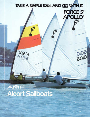 AMF Alcort Force 5 & Apollo Brochure