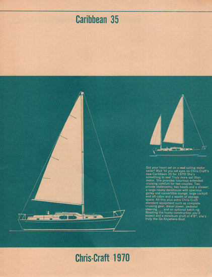 Chris-Craft Caribbean 35 Specification Brochure