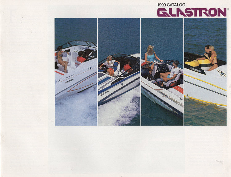 Glastron 1990 Brochure
