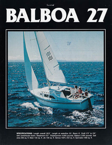 Balboa 27 Brochure Package