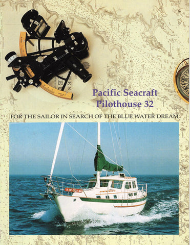 Pacific Seacraft 32 Pilothouse Brochure
