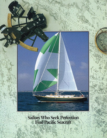 Pacific Seacraft 1990s Brochure