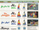 Hobie Cat 1982 Color Selector Brochure