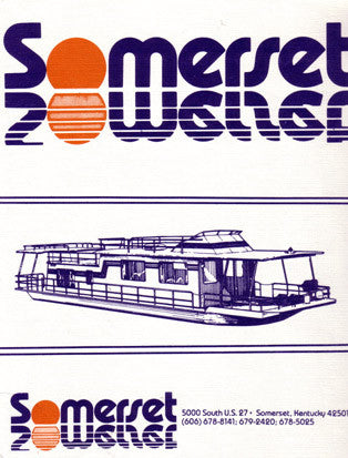 Sumerset 1983 Houseboat Brochure Package