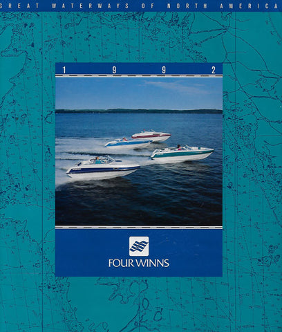 Four Winns 1992 Runabouts Brochure