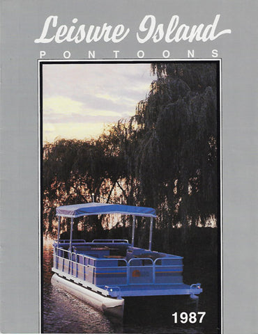 Forester 1987 Leisure Island Pontoon Brochure