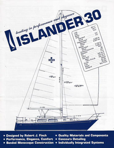 Islander 30 Specification Brochure