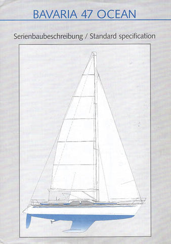 Bavaria 47 Ocean Specification Brochure