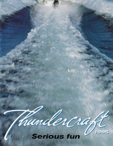 Doral 1995 Thundercraft Brochure