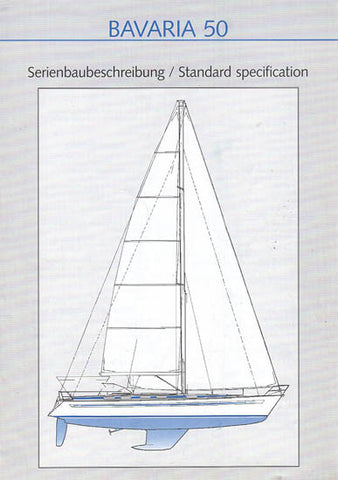 Bavaria 50 Specification Brochure