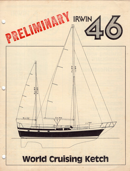 Irwin 46 Cruising Ketch Brochure & Price List