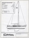 Catalina 34 Brochure