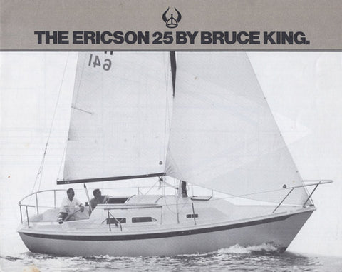 Ericson 25 Brochure Package (1980s)