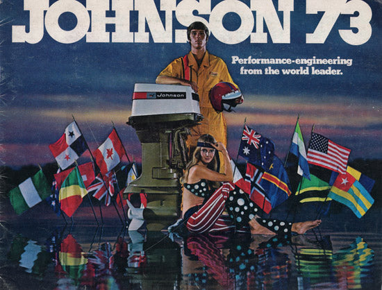 Johnson 1973 Outboard Brochure