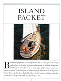 Island Packet The World's Best Sailboats Volume II Book Reprint Brochure