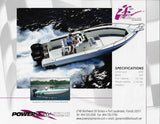 Powerplay 25 Sport Fisherman Outboard Brochure