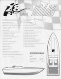 Powerplay 28 Sport Deck Outboard Brochure