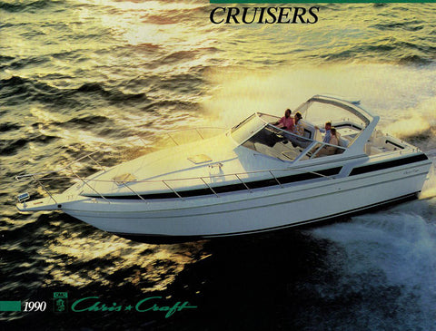 Chris Craft 1990 Cruisers Brochure