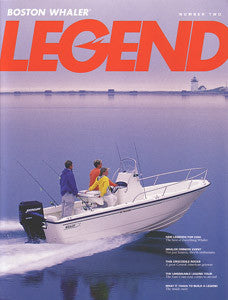 Boston Whaler Legend Newsletter Brochure