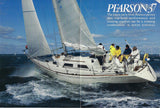 Pearson 37 Motor Boating & Sailing Magazine Reprint Brochure