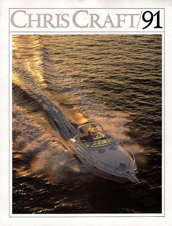 Chris Craft 1991 Full Line Brochure