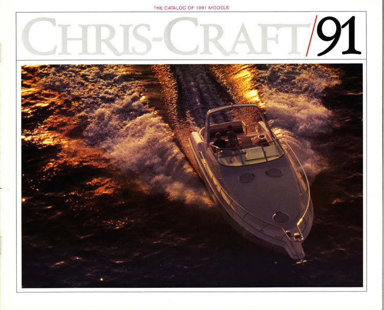 Chris Craft 1991 Brochure