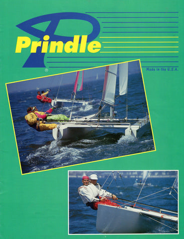 Prindle 1990s Catamaran Brochure