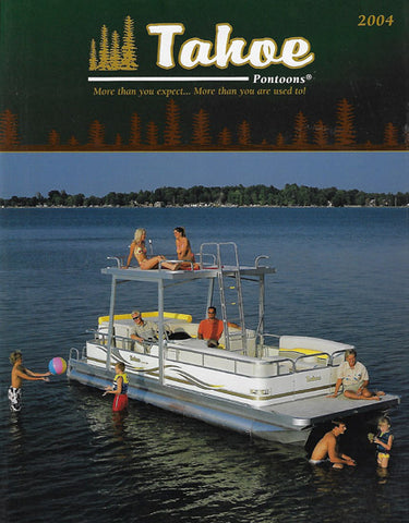 Tahoe 2004 Pontoon Brochure