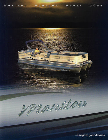 Manitou 2004 Pontoon Brochure