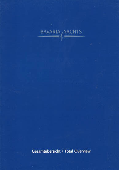 Bavaria 2002 / 2003 Sail Brochure