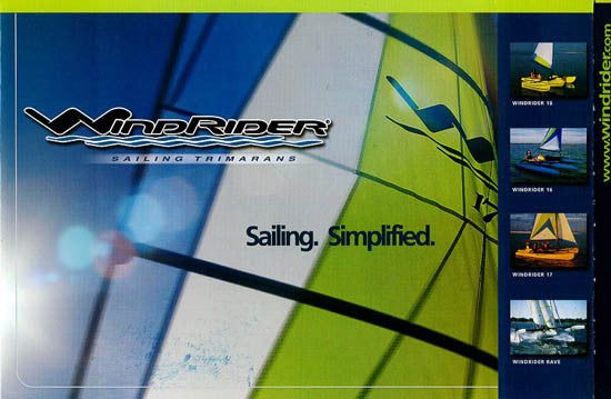 Windrider 2003 Brochure