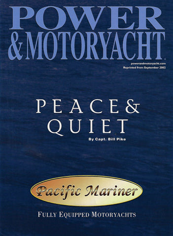 Pacific Mariner Sound Power & Motoryacht Magazine Reprint Brochure