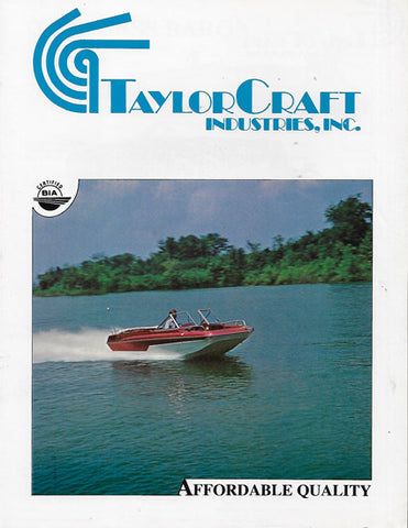 TaylorCraft 1978 Brochure