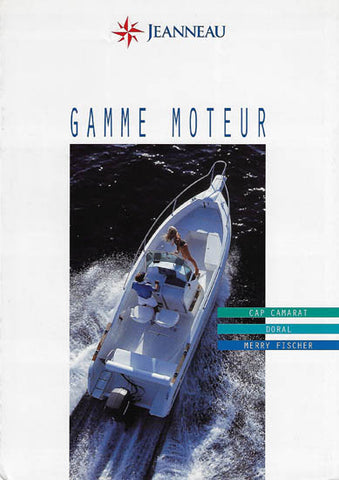 Jeanneau 1996 Power Brochure