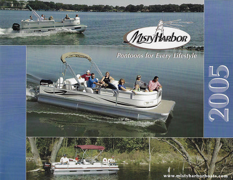 Misty Harbor 2005 Pontoon Brochure