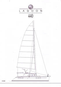 Lagoon 440 Specification Brochure