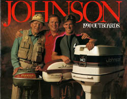 Johnson 1990 Outboard Brochure