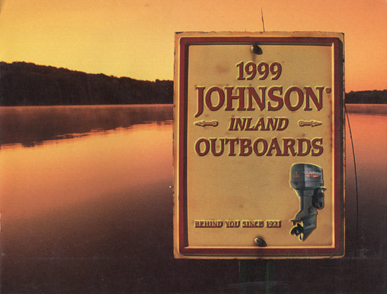 Johnson 1999 Inland Outboard Brochure