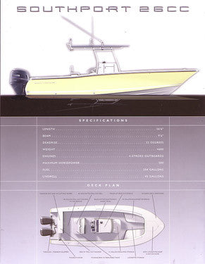 Southport 26 Center Console Brochure