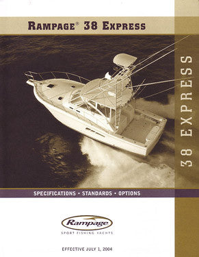 Rampage 38 Express Specification Brochure