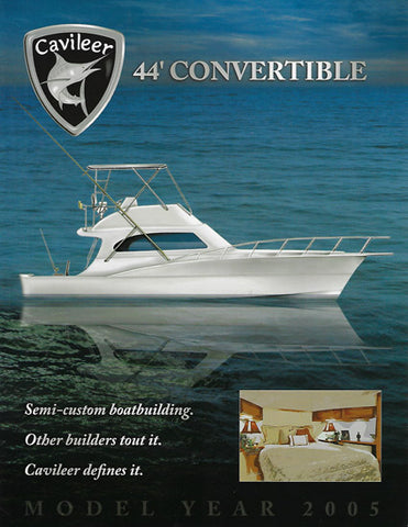 Cavileer 44 Specification Brochure