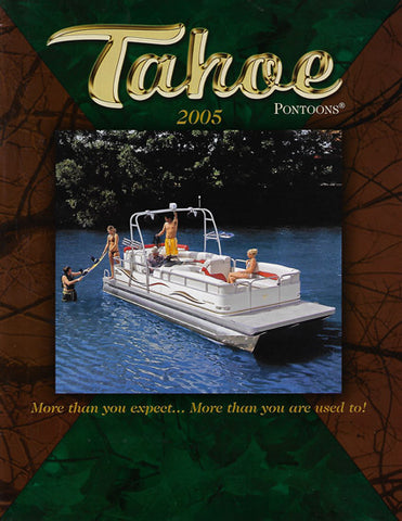 Tahoe 2005 Pontoon Brochure