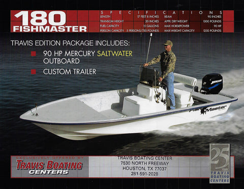 Travis Fishmaster 180 Brochure