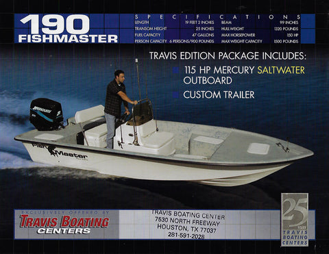 Travis Fishmaster 190 Brochure